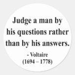 Voltaire Quote 8a Sticker