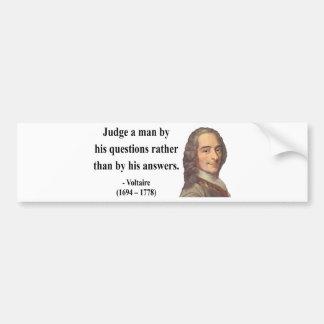 Voltaire Quote 8b Bumper Sticker