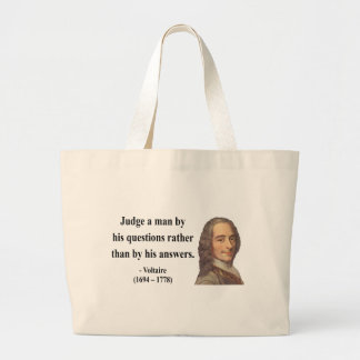 Voltaire Quote 8b Tote Bags