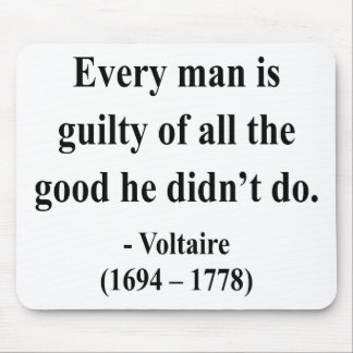 Voltaire Quote 9a Mouse Pads