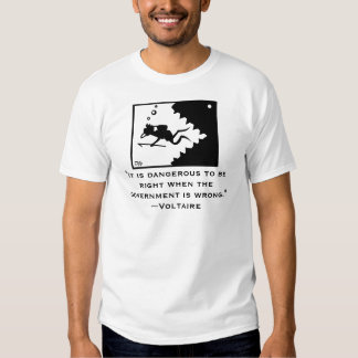 VOLTAIRE quote Shirt