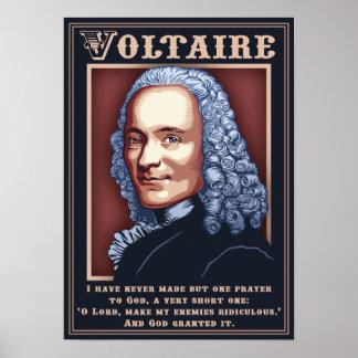 Voltaire - rezo poster
