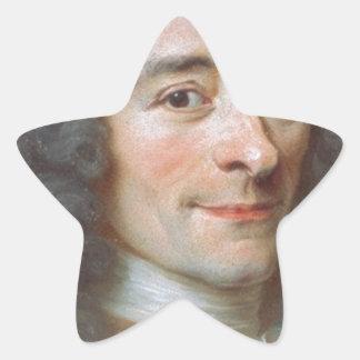 Voltaire Star Sticker