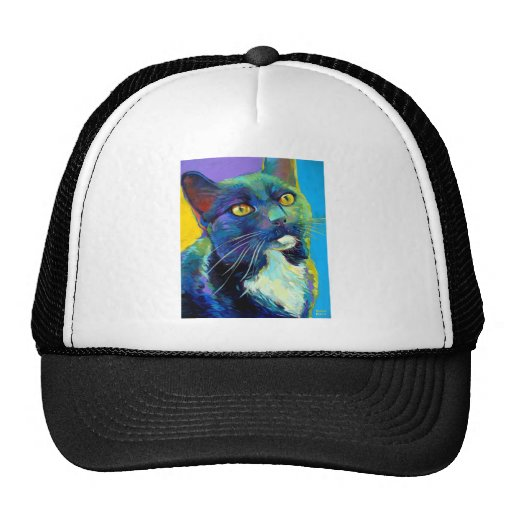 Voltaire the Cosmic Kitty Trucker Hat