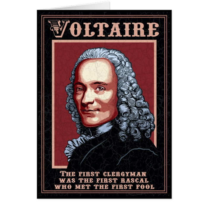 Voltaire -The First Card