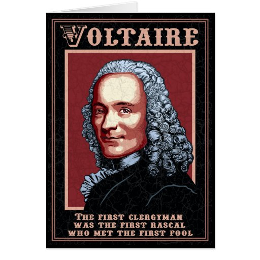 Voltaire -The First Greeting Card