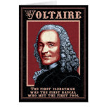 Voltaire -The First Greeting Cards