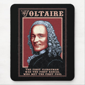 Voltaire -The First Mouse Pad
