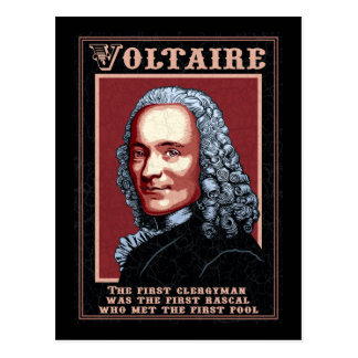 Voltaire -The First Postcard