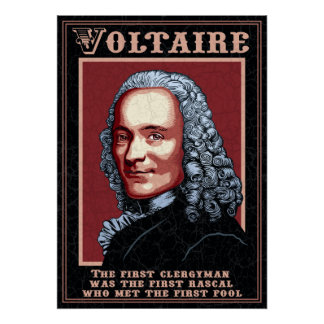 Voltaire -The First Poster