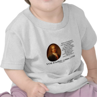 Voltaire What Is Tolerance? Consequence Humanity Shirt