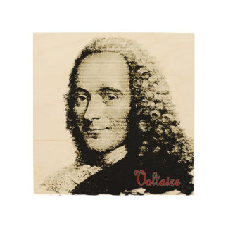Voltaire Woodsnap Print
