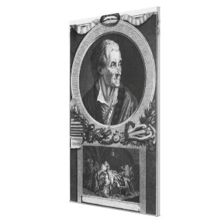 Voltaire y el asunto de Calas Lona Envuelta Para Galerias