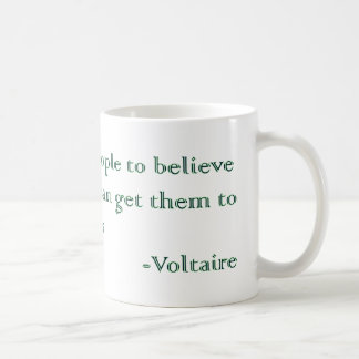 Voltaire's Absurdities and Atrocities Coffee Mug