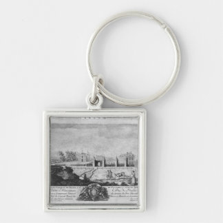 Voltaire's house in Ferney, north side Keychain