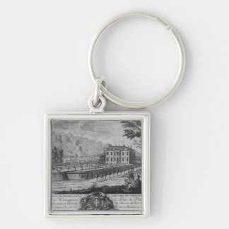 Voltaire's house in Ferney, west side Keychain