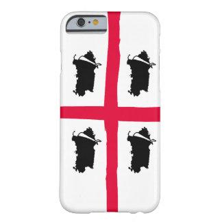 Volte de Sardegna 4 - caso del iPhone 6 Funda Barely There iPhone 6