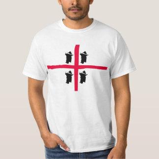 Volte de Sardegna 4 - frente/camiseta posterior Polera