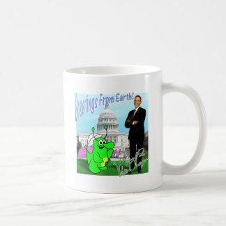 Voltios de dragón Obama Taza De Café