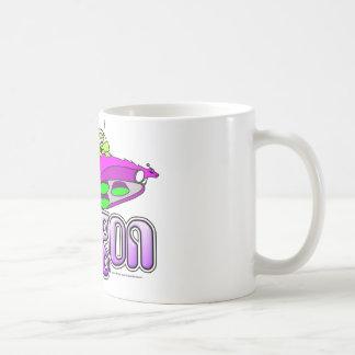 Voltios de dragón taza de café
