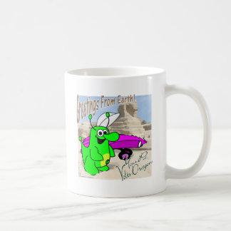 Voltios de esfinge del dragón taza de café
