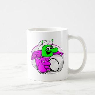 Voltios de héroe del dragón taza de café