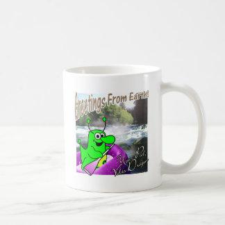 Voltios transportar en balsa del dragón taza de café