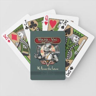 Volto-Vac Retro Robot Playing Cards