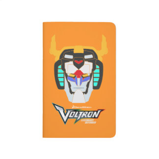 Voltron   Colored Voltron Head Graphic Journal