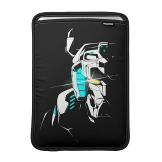 Voltron | Gleaming Eye Silhouette MacBook Air Sleeve