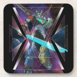 Voltron | Intergalactic Voltron Graphic Beverage Coaster