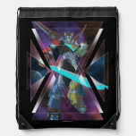 Voltron | Intergalactic Voltron Graphic Drawstring Bag