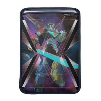 Voltron | Intergalactic Voltron Graphic MacBook Sleeve