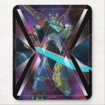 Voltron | Intergalactic Voltron Graphic Mouse Pad