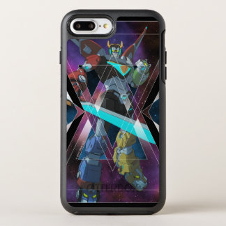 Voltron | Intergalactic Voltron Graphic OtterBox Symmetry iPhone 8 Plus/7 Plus Case