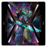 Voltron | Intergalactic Voltron Graphic Square Wall Clock