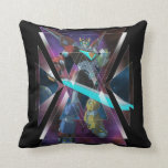 Voltron | Intergalactic Voltron Graphic Throw Pillow