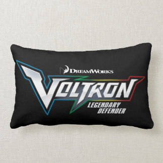 Voltron | Legendary Defender Logo Lumbar Pillow