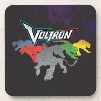 Voltron   Lions Charging Beverage Coaster