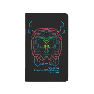 Voltron   Pilot Colors Gradient Head Outline Journal