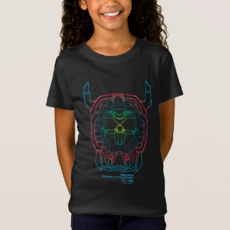 Voltron | Pilot Colors Gradient Head Outline T-Shirt