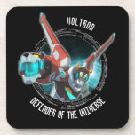 Voltron | Red Lion Plasma Beam Beverage Coaster
