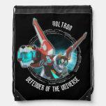Voltron | Red Lion Plasma Beam Drawstring Backpack