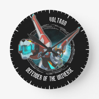 Voltron | Red Lion Plasma Beam Round Clock