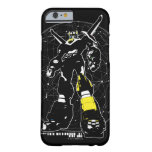 Voltron | Silhouette Over Map Barely There iPhone 6 Case