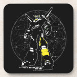 Voltron | Silhouette Over Map Beverage Coaster