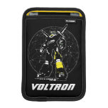 Voltron | Silhouette Over Map iPad Mini Sleeve
