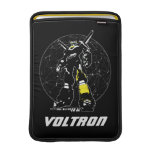 Voltron | Silhouette Over Map MacBook Sleeve