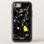 Voltron | Silhouette Over Map OtterBox Symmetry iPhone 8/7 Case