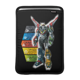 Voltron | Voltron And Pilots Graphic MacBook Sleeve